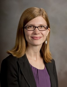 Lauren Pressley, Associate Director for Learning & Outreach.